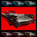 1959 Cadillac Eldorado Convertible . Wing Angle Artwork by Wingsdomain Art and Photography