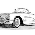 1960 Corvette by Jack Pumphrey