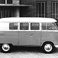 1960 Volkswagon Microbus by Underwood Archives