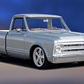 1969 Chevrolet C10 Pickup 'studio' 1 by Dave Koontz