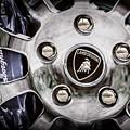 1997 Lamborghini Diablo Roadster  Wheel Emblem -1303ac by Jill Reger