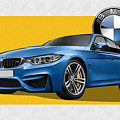 2016  B M W  M 3  Sedan With 3 D Badge  by Serge Averbukh