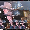 21 Dukes John Wayne Cardboard Cutout Collage Tombstone Arizona 2004-2009 by David Lee Guss