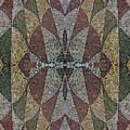 21970. Mosaic Rhythm Of Roman Baths. by Andy Za