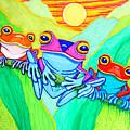 3 Little Frogs by Nick Gustafson