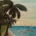 3 Palms by Denise Fletcher