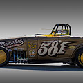 581 Bonneville Race Car by Nick Gray