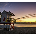 7901- Miami Beach Sunrise  by David Lange
