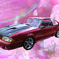 93 Mustang by Donald Pavlica