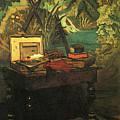 A Corner Of The Studio  by PixBreak Art