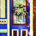 A Door Of Many Colors # 2 by Mel Steinhauer