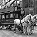 Victorian Horse Drawn Bus - London by Doc Braham