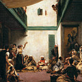 A Jewish Wedding In Morocco by Eugene Delacroix