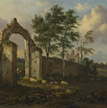 A Landscape With A Ruined Archway by PixBreak Art