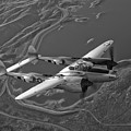 A Lockheed P-38 Lightning Fighter by Scott Germain