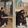 A Miracle Of Saint Benedict by French 15th Century