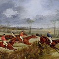 A Steeplechase - Near The Finish Henry Thomas Alken by Eloisa Mannion