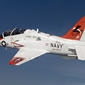 A T-45c Goshawk Training Aircraft by Stocktrek Images
