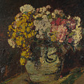 A Vase Of Wild Flowers by PixBreak Art