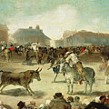 A Village Bullfight by Francisco Goya