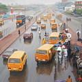 A Wet Day In Lagos by Mufutau Apooyin