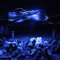 Ab Artwork At Night by Gareth Pickering