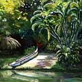 Abandoned Canoe by Elizabeth Ferris
