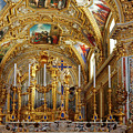 Abbey Of Montecassino Altar by Sally Weigand