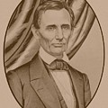 Abraham Lincoln Circa 1860  by War Is Hell Store
