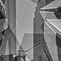 Abstract Architecture - Toronto Financial District by Shankar Adiseshan