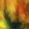 Abstract Background Structure With Oil Painting Texture In Tones Of Nature. by Jozef Klopacka