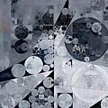 Abstract Painting - Black Pearl by Vitaliy Gladkiy