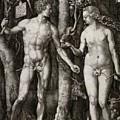 Adam And Eve 1504  by Durer Albrecht