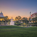 Adelaide Sunset by Ray Warren