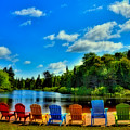 Adirondack Calm by David Patterson