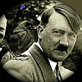 Adolf Hitler And A Feathered Friend C.1941-2008 by David Lee Guss