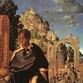 Adoration Fragment  by Durer Albrecht