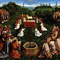 Adoration Of The Mystic Lamb by Hubert Eyck and Jan van Eyck