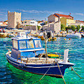 Adriatic Town Of Razanac Colorful Waterfront by Brch Photography
