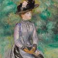 Adrienne by Pierre Auguste Renoir