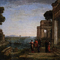 Aeneas Farewell To Dido In Carthago  by PixBreak Art