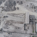 Aerial View Of Open Pit Sand Quarries.  View From Above.  by Mariusz Prusaczyk