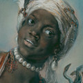 Africa by Rosalba Carriera