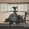 Ah-64d Apache Longbow At Pinal Airpark by Terry Moore