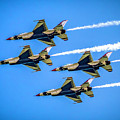 Air Force Thunderbirds by Nick Zelinsky