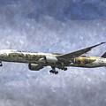 Air New Zealand Hobbit Boeing 777 Art by David Pyatt