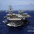Aircraft Carrier Uss Ronald Reagan by Stocktrek Images