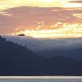 Alaskan Coast, View Towards Kosciusko Or Prince Of Wales Islands by David Halperin