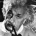 Albert Einstein (1879-1955) by Granger
