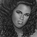 Alicia Keys by Carliss Mora